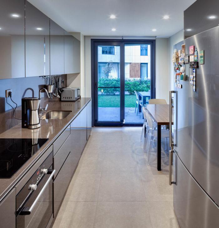 Mika İnşaat - Naturalist - 2+1 Daire Kapalı Mutfağı