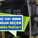 Kemerburgaz Kent Ormanı Durağından Geçen İETT Otobüs Hatları